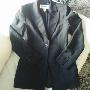 HOLT RENFREW - 90s long wool jacket